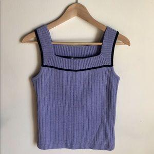 ST. JOHN SPORT by Marie Gray Lavender Knit Tank